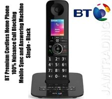 BT Premium Cordless Phone 100% Nuisance Call Blocking- Mobile Sync- Ans Machine