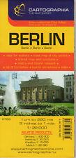 Berlin Folded Street Map by Cartographia, 9789633527894
