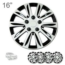 """FOR CHEVROLET NEW 16"""" ABS SILVER RIM LUG STEEL WHEEL HUBCAPS COVER 547"""