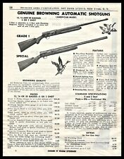 1948 Browning American Made Grade I and Special Automatic Shotgun Ad