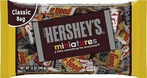 Hershey's Miniatures Chocolate Candy