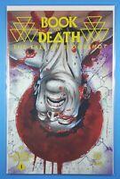 Book of Death Fall of Bloodshot #1 Second Print Yellow Logo Valiant Comics 2015