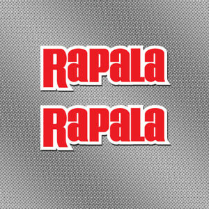 """2x Rapala 6"""" Full Color Sticker Decal Fishing Boat Bait Lure Tackle Box Reel Rod"""