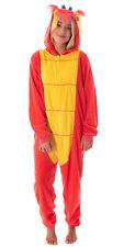 Disney Mulan Unisex Mushu Dragon One Piece Union Suit Costume Pajamas