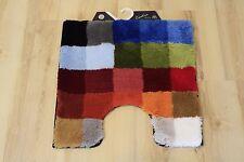 Alfombra de baño Kleine Wolke Cubetto Multicolor 60x60 cm INODORO Alfombrilla