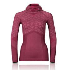 Abbigliamento sportivo da donna rossi manica lunghi Taglia XS