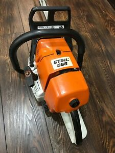 """Rare STIHL 066 with 24"""" bar and chain. Excellent condition!"""
