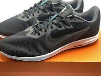 Nike Downshifter 9 4E Wide Men's Size 13  AR4946-008 Black Grey Running Shoes