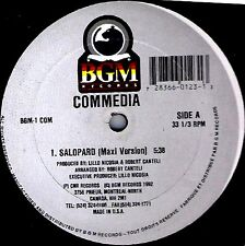 "12"" - Commedia - Salopard (TECHNO HOUSE) NUEVO - MINT"