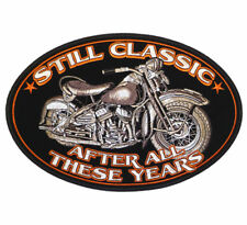 CLASSIC OLD BIKE CYCLE MOTORCYCLE PATCH P5120 biker NEW jacket hat patches