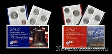 2006 P+D U.S. Mint Set ~ Sacagawea Kennedy Statehood Roosevelt Jefferson Lincoln