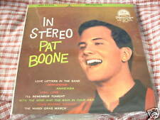 """a941981 Japan 10"""" Pat Boone Best LP In Stereo"""