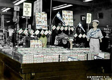 1952 Topps Display Photo 5x7 - Unopened Boxes Mickey Mantle Rookie Year