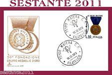 ITALIA FDC CAPITOLIUM 226, GRUPPO MEDAGLIE D'ORO 1973, ANNULLO MATERA B8