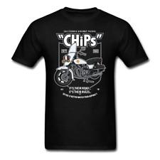 Chips Police Bike - 80's Retro TV | Men's T-Shirt