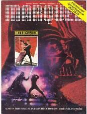 1983 Marquee movie magazine - Return of the Jedi, Alfred Hitchcock, Spacehunter