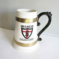 "VTG Shanley Deacons Fargo North Dakota High School Mug Stein ND 7.25"" FREE SH"