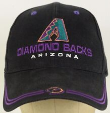 Arizona Diamondbacks Black Baseball Hat Cap Adjustable Strap