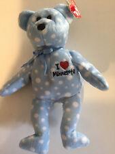 Ty Beanie Baby I Love Minnesota  (Bear State Exclusive) 2004