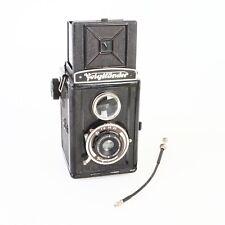 * Voigtlander Brilliant Vintage 50s Medium Format Camera
