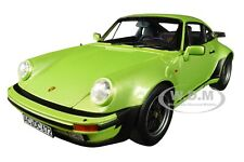 1978 PORSCHE 911 TURBO 3.3 SILVERGREEN METALLIC 1/18 DIECAST CAR BY NOREV 187577