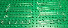 Lego New Bulk City Garage Trans-clear / Transparent Rollers X8 Door Parts