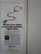 10/1991 PUB BF GOODRICH JET ELECTRONIC ADI-330 ATTITUDE INDICATOR STETHOSCOPE AD