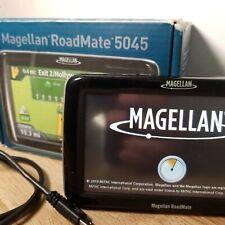 "Magellan Roadmate 5045 - 5"" Touch Portable Vehicle Gps Navigation Lifetime maps"