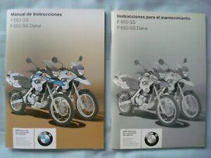 Manual instrucciones BMW F-650-GS