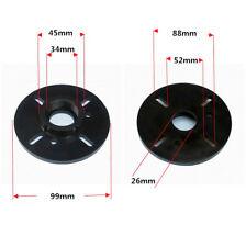 2 x Plastic Speaker Horn Adapter For Home Stereo HF Speaker Stage 1 Inch Thraot
