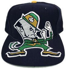Vintage Notre Dame Fighting Irish Snapback Hat Cap American Needle NCAA Wool 3D