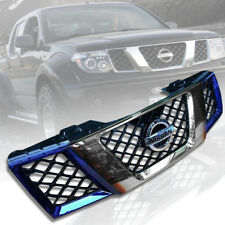 FRONT GRILLE GRILL TITANIUM SILVER FOR NISSAN FRONTIER NAVARA D40 2005 06 07 08