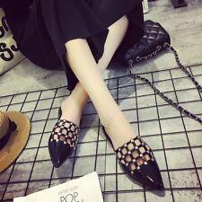 Summer Women Korean Pointed Toe Slipper Beach Shoes Sandal Casual Shoes PF275