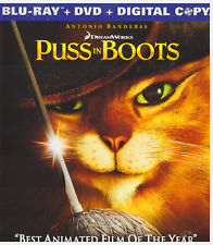 PUSS IN BOOTS (Blu-ray Only, 2012)