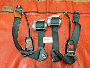Triumph, MG, Austin Healey, Securon 3-Point Retractable Seat Belts, 2, VGC, !!