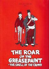 "Joel Grey ""ROAR OF THE GREASEPAINT"" Anthony Newley 1966 Anaheim Souvenir Program"