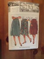 VINTAGE STYLE PATTERN 4131 - Skirts