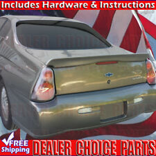 2000-2007 Chevy Monte Carlo Pacecar Factory Style Spoiler Lip Wing UNPAINTED