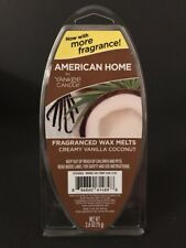 American Home by Yankee Candle Creamy Coconut Vanilla Fragranced Wax Melts