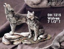 Doc Holliday Ceramic Bisque Wolves Ready to Paint
