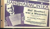 Mei' Muatterl war a Weanerin  - Wienerlied von Ludwig Gruber