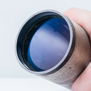 Isco Kiptar 125mm F2.2 Vintage Projection Lens, Bokeh, Fast, Telephoto 62.5mm O