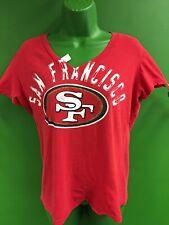 T608/135 NFL San Francisco 49ers V-Neck T-Shirt Women's Large