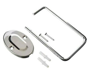 Toilet Roll Holder Chrome Plated Holder With Screws By Chef Aid