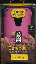 "OtterBox DEFENDER PINK black Grn ""Melon Pop"" DROID MAXX 2 NEW phone Case~Reg $50"