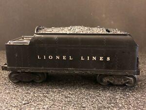 Vintage Lionel Lines Whistle Tender 2466WX O Gauge Locomatives LOOK!