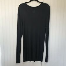 Yohji Yamamoto POUR HOMME Knit Sweater Black Men's Tops Size Medium