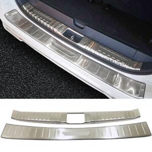 For Mitsubishi Pajero Sport 2020 Silver Exterior Rear Bumper Protector Cover