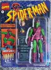 "Marvel Legends Retro Green Goblin Spider-Man cartoon action figure 6"" Vintage"