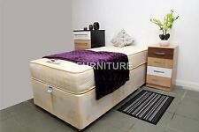 "2ft6 Single Divan Bed+Luxury Orthopaedic Firm 10"" Mattress+Sliding doors *SALE*"